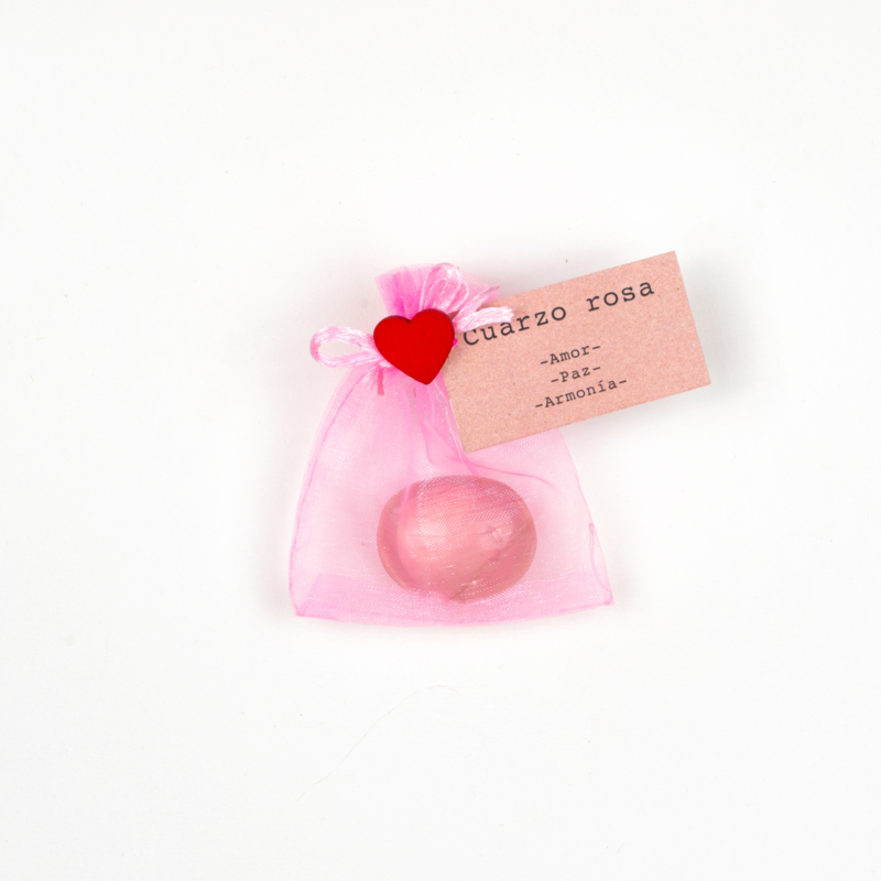 Cuarzo rosa-Amor