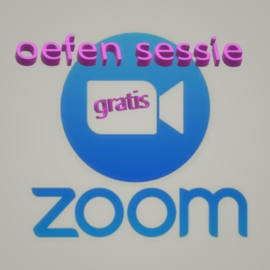 Gratis Zoom test sessie