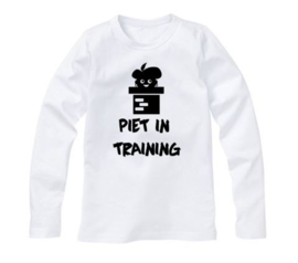 Sinterklaas shirt PIET IN TRAINING
