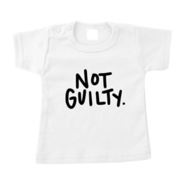 Shirt NOT GUILTY