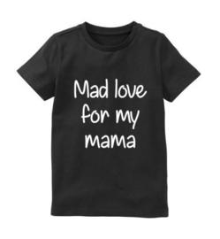 Moederdag shirt MAD LOVE
