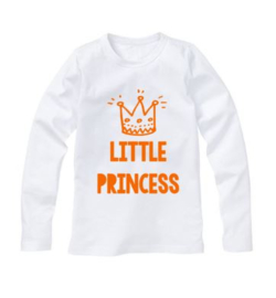 Koningsdag shirt LITTLE PRINCESS