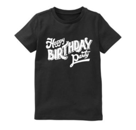 Verjaardagsshirt Happy Birthday party