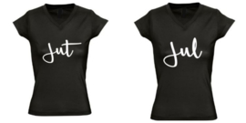 Twinning shirts JUT EN JUL dames model