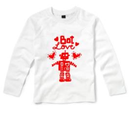 Valentijns shirt BOT LOVE