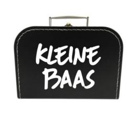 Koffertje KLEINE BAAS