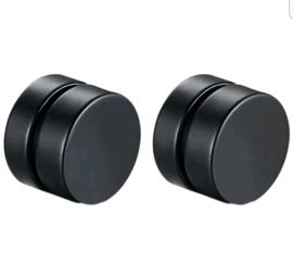 Magnetische oorbellen BLACK
