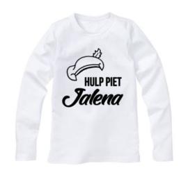 Sinterklaas shirt HULP PIET MET EIGEN NAAM