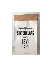 Sinterklaas paperbag KADOOTJES VAN