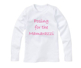 Shirt POSING FOR THE MAMARAZZI