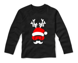 Kerst shirt SANTA DEER