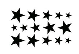 Tattoo STARS SMALL