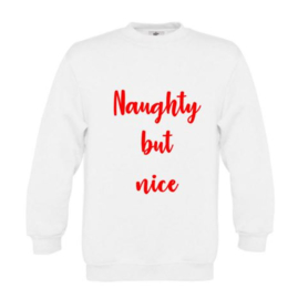 Kerst Sweater NAUGHTY BUT NICE