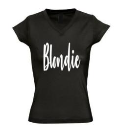 Dames T'shirt BLONDIE