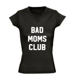 Dames T'shirt BAD MOMS CLUB