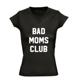 Dames T'shirt BAD MOMS CLUB