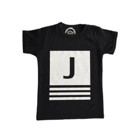 Shirt met eigen letter