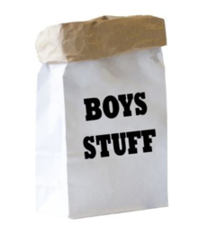 PAPERBAG BOYS STUFF formaat MEDIUM