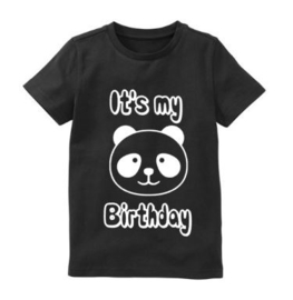 It's my birthday panda verjaardagsshirt