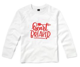 Valentijns shirt HEART BREAKER