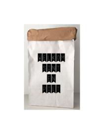 Sinterklaas paperbag WELKOM SINT EN PIET