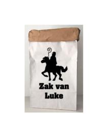 Sinterklaas paperbag ZAK VAN