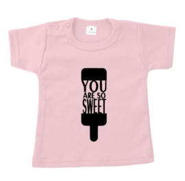 Zomer shirt YOU ARE SO SWEET