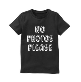 Shirt NO PHOTOS PLEASE