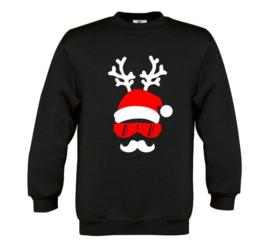 Kerst Sweater SANTA DEER