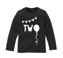 Verjaardagsshirt two ballon