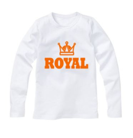 Koningsdag shirt ROYAL