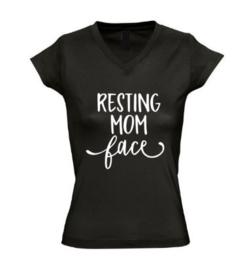 Dames T'shirt RESTING MOM FACE