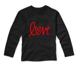 Valentijns shirt LOVE