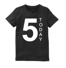 Verjaardagsshirt 5 today