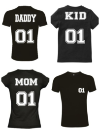 Twinning shirts Daddy , Mom , Kid
