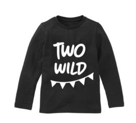 Verjaardagsshirt two wild slinger