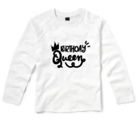 Verjaardagsshirt BIRTHDAY QUEEN