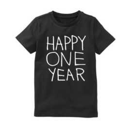 Verjaardagsshirt Happy one year