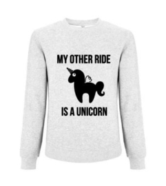 Sweater MY OTHER RIDE IS A UNICORN