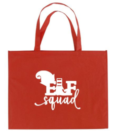 Kerst XXL Shopper ELF SQUAD