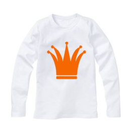 Koningsdag shirt KROON