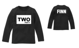 Verjaardagsshirt two party
