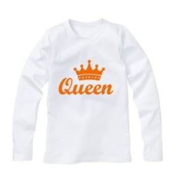 Koningsdag shirt QUEEN