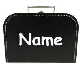 Koffertje met eigen naam of tekst