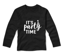 Verjaardagsshirt IT'S PARTY TIME