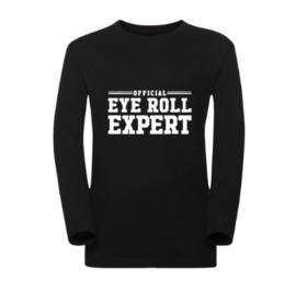 Kindershirt OFFICIAL EYE ROLL EXPERT