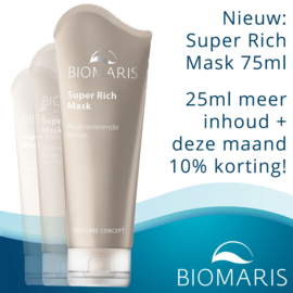 BIOMARIS ACTIE SUPER RICH MASK 75ml Aktie Oktober