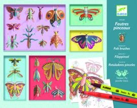 DJECO zelf vlinders in lijstjes maken 8 jr. +