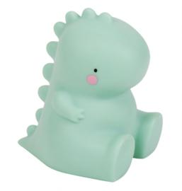 Little Light T-rex groen -  A Little Lovely Company