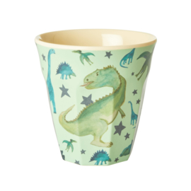 RICE beker - Dino print  (nieuwe collectie 'Choose Happy' 2021)